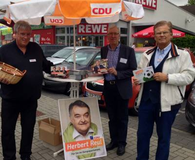Canvassing in Rösrath 10. Mai 2014 - Canvassing in Rösrath 10. Mai 2014